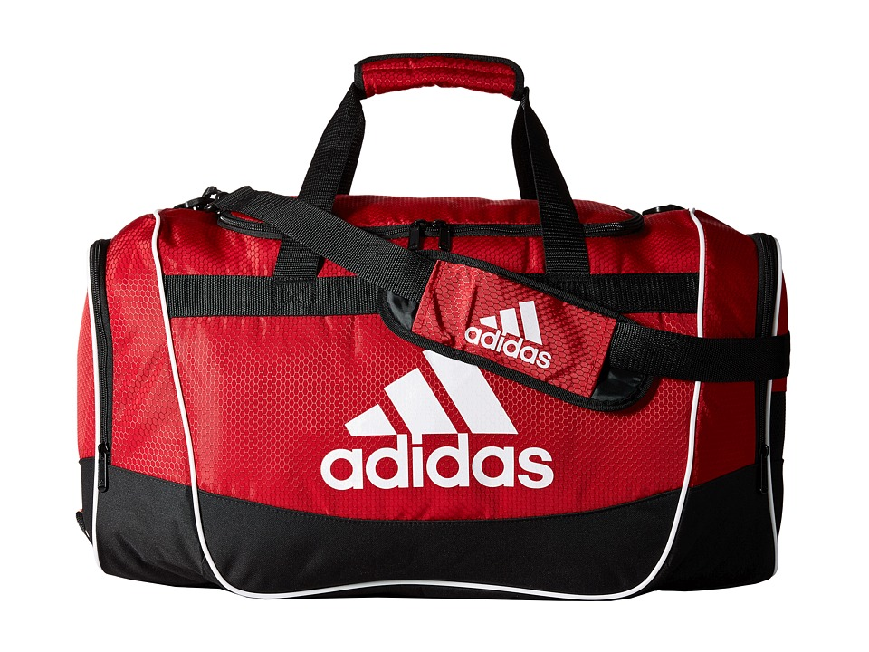 adidas - Defender II Duffel Small (University Red) Duffel Bags
