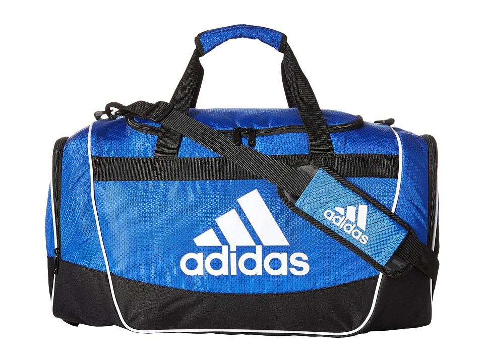 adidas - Defender II Duffel Small (Bold Blue) Duffel Bags