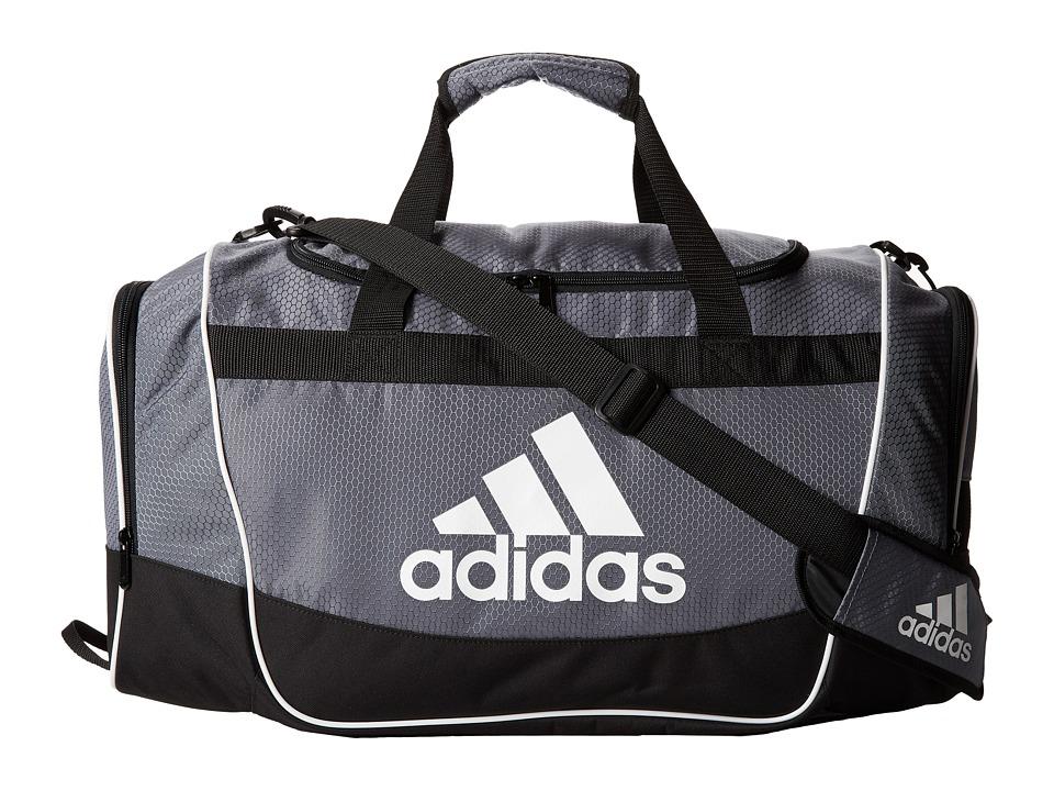 adidas - Defender II Small Duffel (Onix) Duffel Bags