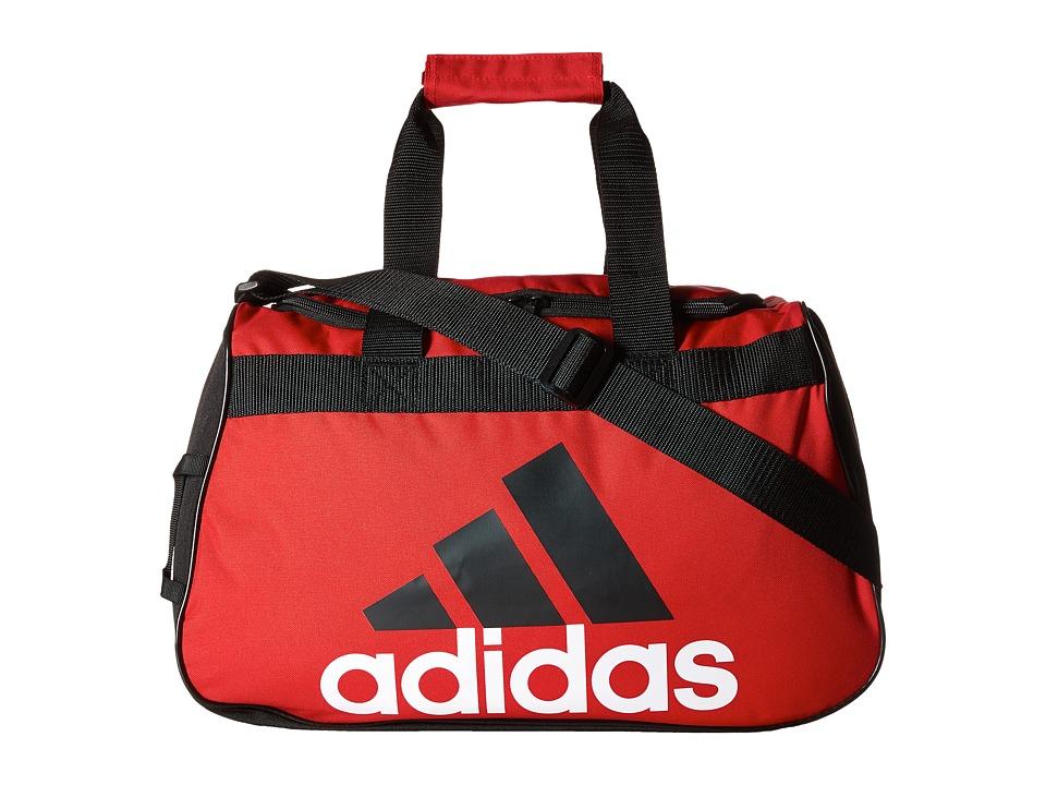 adidas - Diablo Small Duffel (Scarlet/Black/White) Duffel Bags