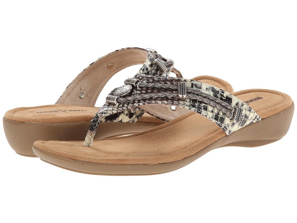 Minnetonka - Silverthorne Thong (Python) Women's Sandals