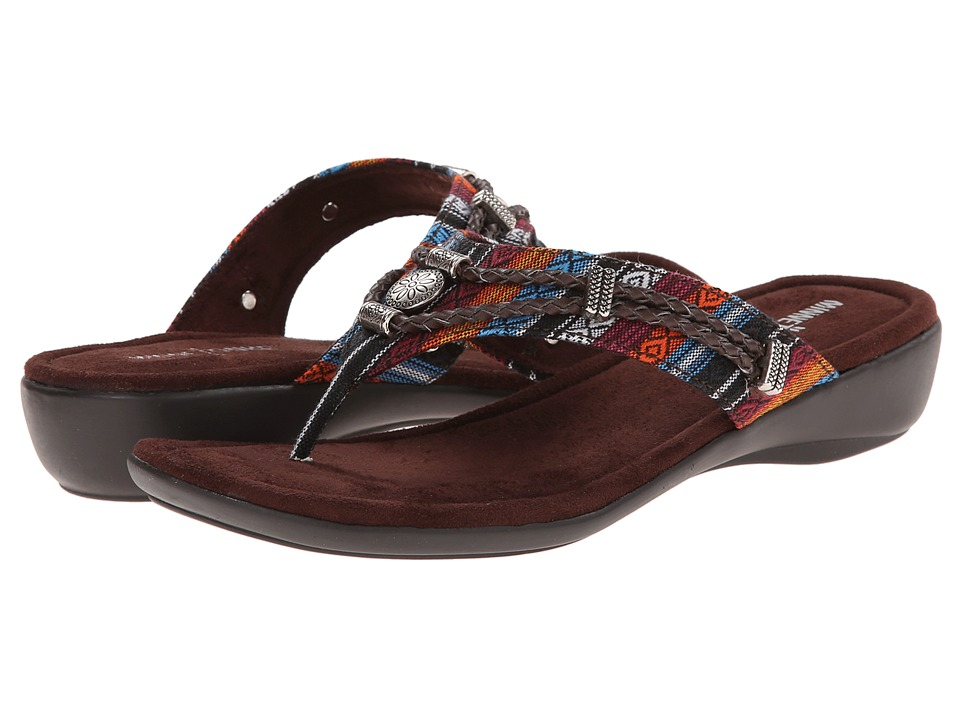 Minnetonka - Silverthorne Thong (Arizona Fabric) Women's Sandals