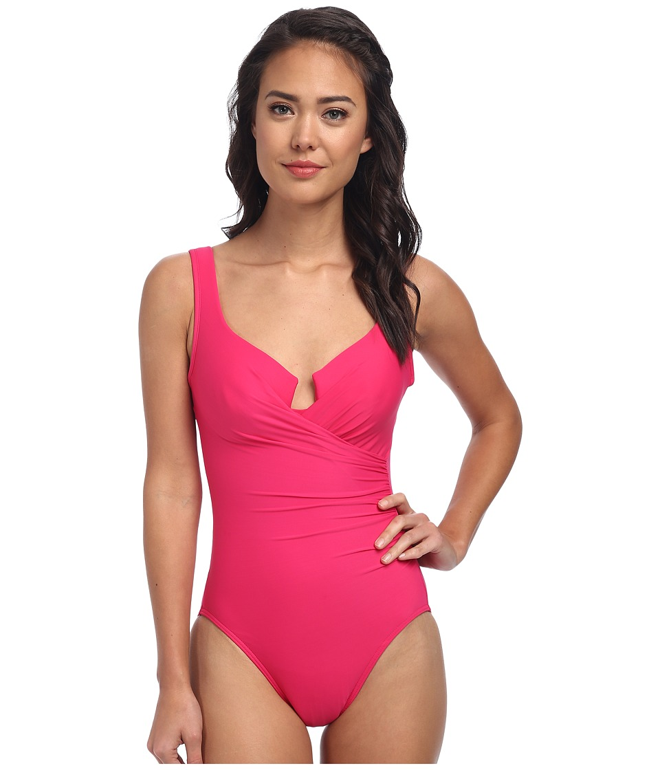 Miraclesuit - Must Haves Escape Swimsuit (Watermelon) Women's Swimsuits One Piece