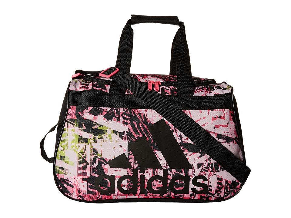 adidas - Diablo Small Duffel (Urban Wild Solar Pink/Black) Duffel Bags