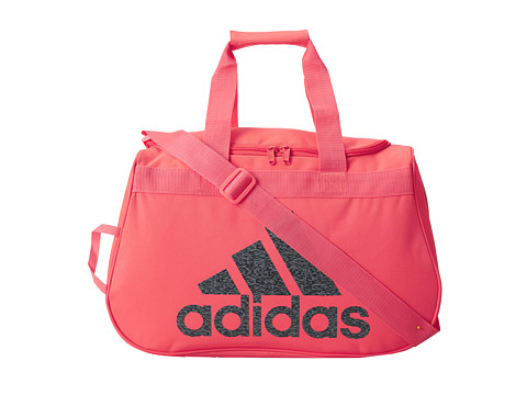 adidas - Diablo Small Duffel (Flash Red/Granite) Duffel Bags