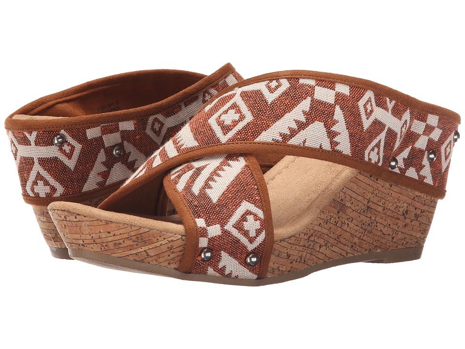 Minnetonka - Lainey (Brown Tierra Print) Women