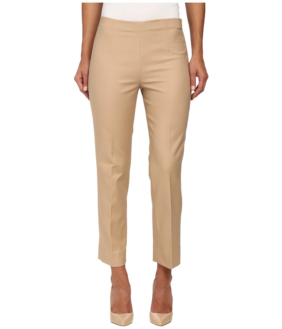 NIC+ZOE - The Chloe Perfect Pant - Side Zip Ankle (Warm Tan) Women