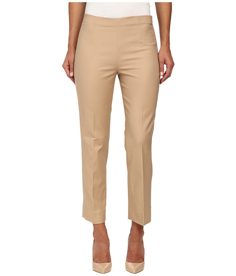 NIC+ZOE - The Chloe Perfect Pant - Side Zip Ankle (Warm Tan) Women's Casual Pants