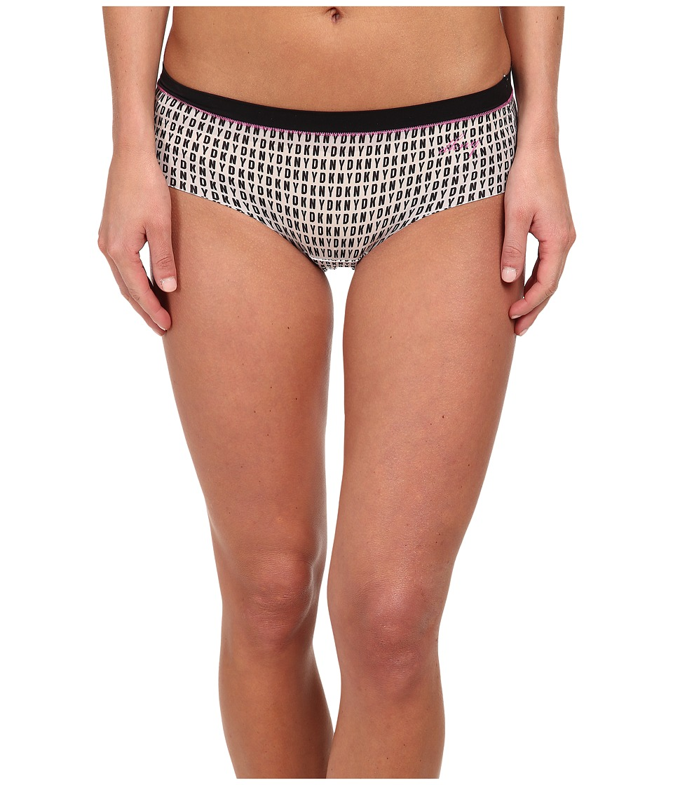 DKNY Intimates - Fusion Bikini 570115 (Logo Print Black/India) Women's Underwear