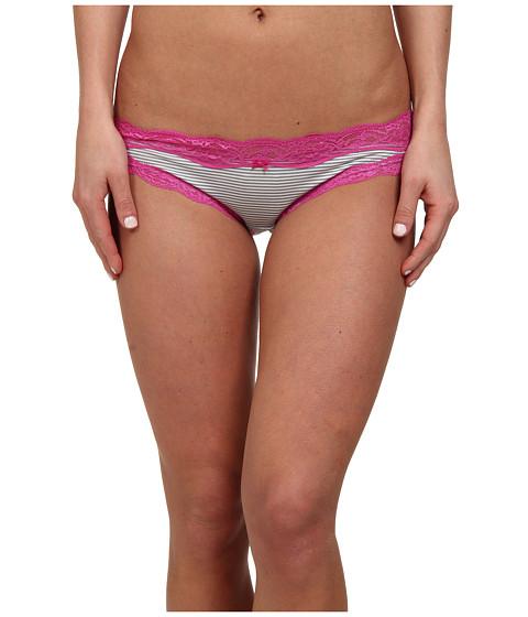 DKNY Intimates - Downtown Cotton Bikini (Stripe/India) Women
