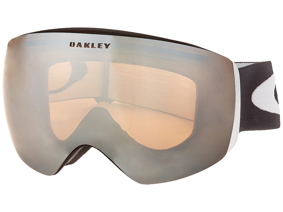 Oakley - Flight Deck (Matte Black w/ Persimmon) Snow Goggles