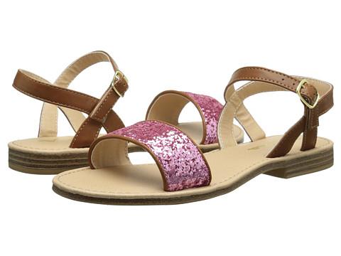 Nina Kids - Gabriella (Toddler/Little Kid/Big Kid) (Tan/Pink) Girls Shoes