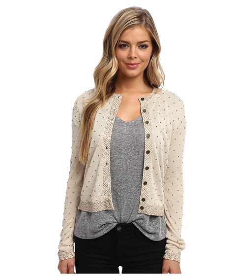 Free People - Molly Back Cardigan (Tea Combo) Women's Sweater