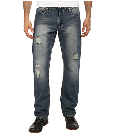 Request - Straight Legged Jeans in Vintage Delancey (Vintage Delancey) Men's Jeans