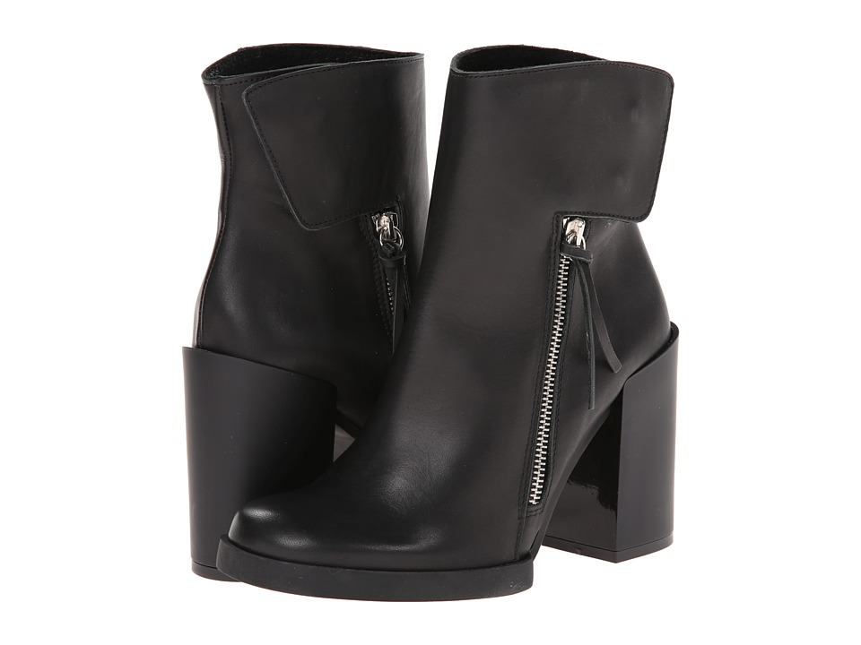 Miista - Ashley (Black) Women's Zip Boots