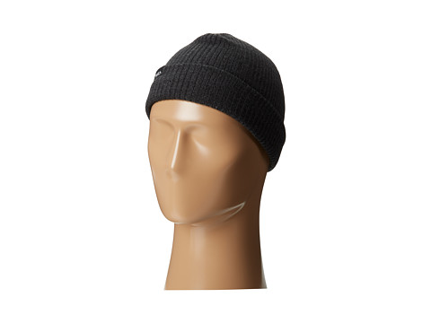 RVCA - Fourtyfive Beanie (Charcoal Heather) Beanies