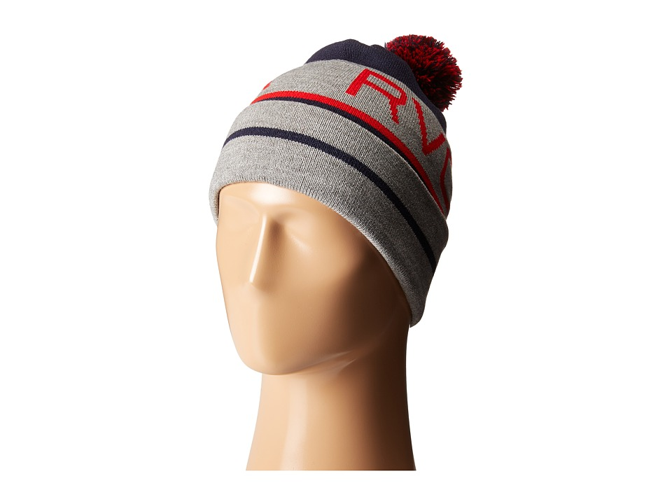 RVCA - Range Beanie (Grey Heather) Beanies