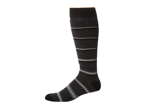 BULA - Branded Socks (Black Plaid) Crew Cut Socks Shoes
