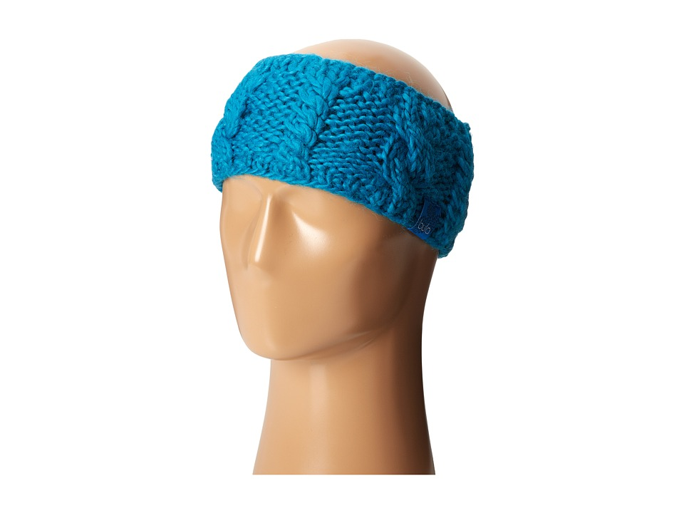 BULA - Aran Earband (Dark Teal) Knit Hats