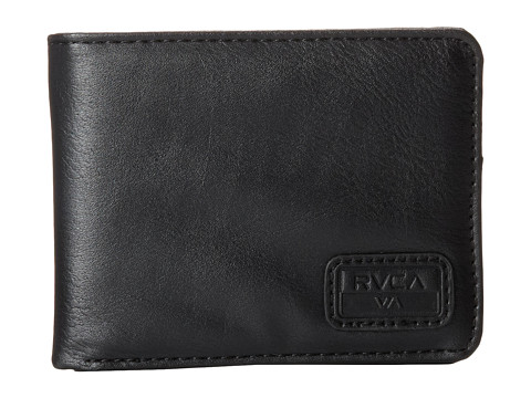 RVCA - Dispatch Wallet (Black) Wallet Handbags