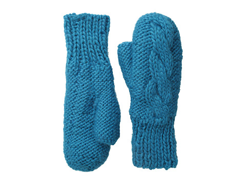 BULA - Aran Mitten (Dark Teal) Over-Mits Gloves