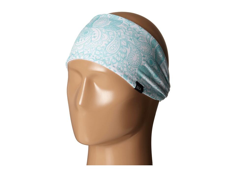 BULA - Passion Printed (White Paisley) Helmet