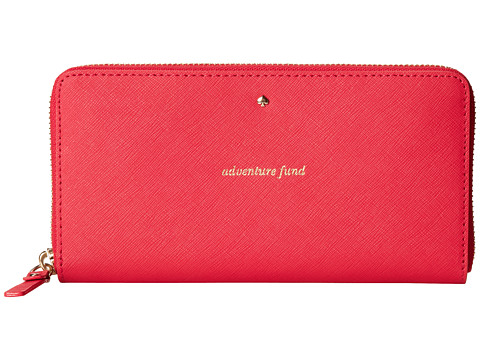 Kate Spade New York - Flights Of Fancy Lacey (Aladdin Pink) Wallet