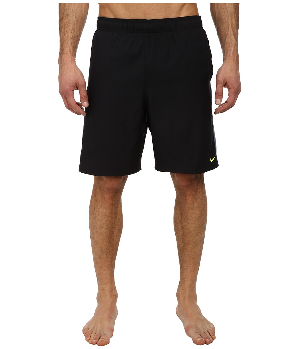 Nike - Core Pulse 9 Volley Short (Black) Men's Swimwear