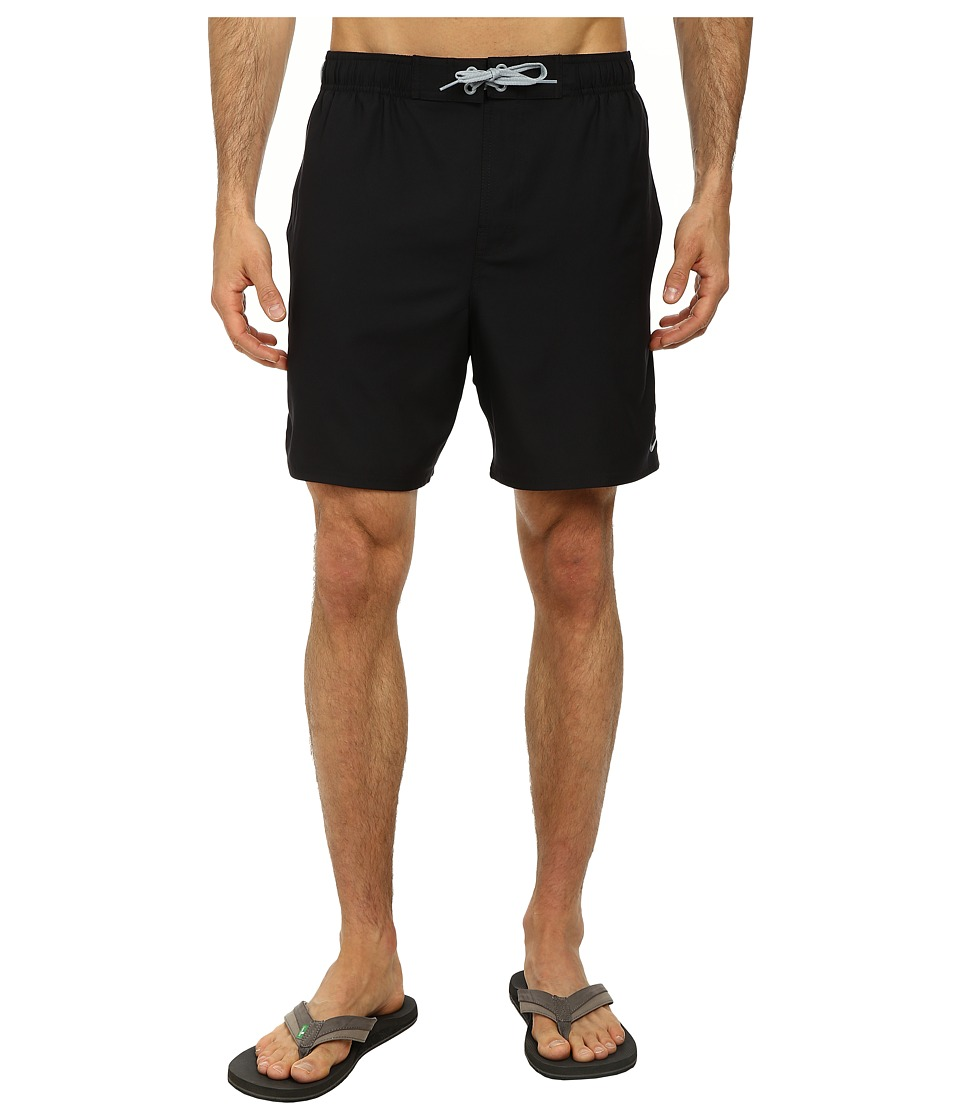 Nike - Core Envince 7 Volley Short (Black) Men's Swimwear