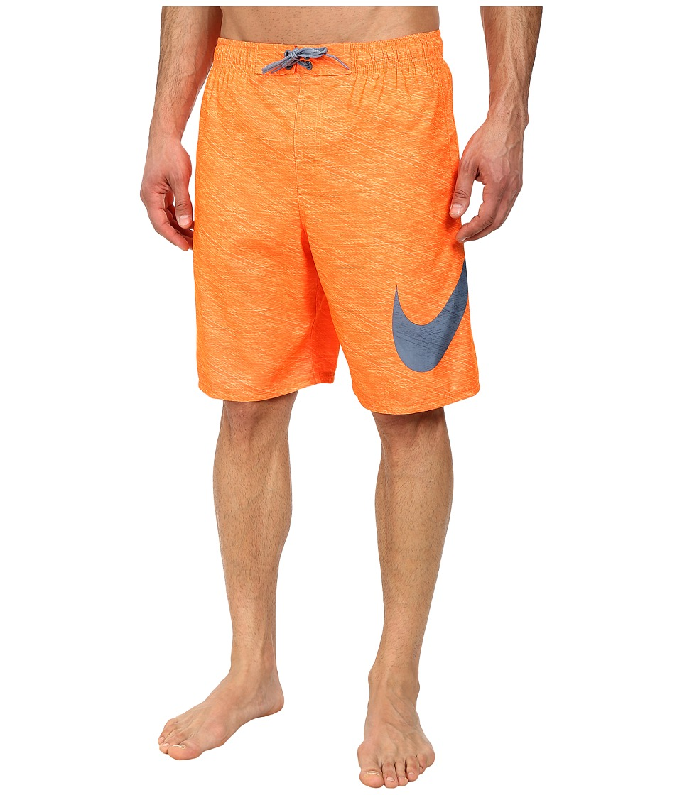 Nike - Hyper Flash 9 Volley Short (Total Orange) Men's Swimwear