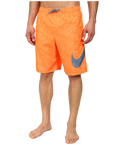 Nike - Hyper Flash 9 Volley Short (Total Orange) Men's Swimwear