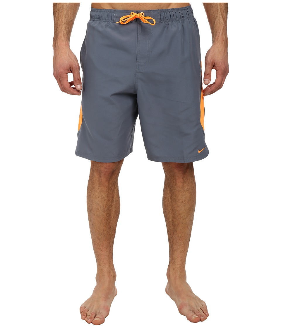 Nike - Color Surge Dynamo 9 Volley Short (Blue Graphite) Men's Swimwear