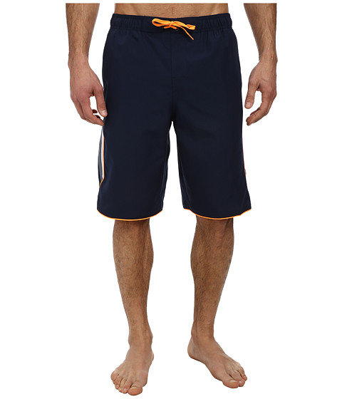 Nike - Color Surge Ray 11 Volley Short (Obsidian) Men's Swimwear