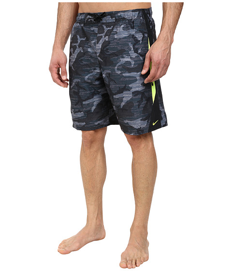 Nike - Zephyr Camo 9 Volley Short (Black) Men