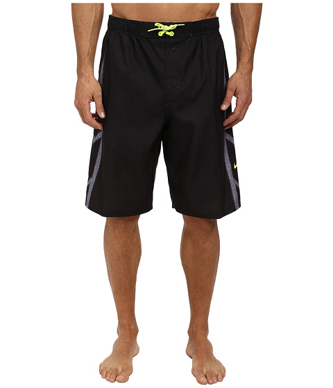Nike - Hyper Charge 11 Volley Short (Black) Men