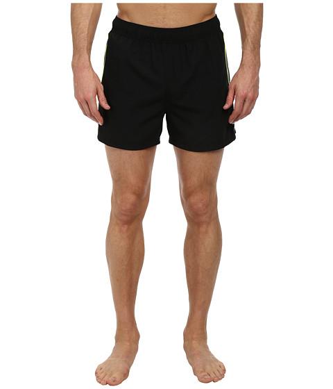 Nike - Racer 4 Volley Short (Black) Men's Swimwear