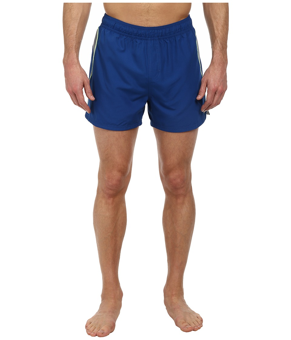 Nike - Racer 4 Volley Short (Gym Blue) Men's Swimwear
