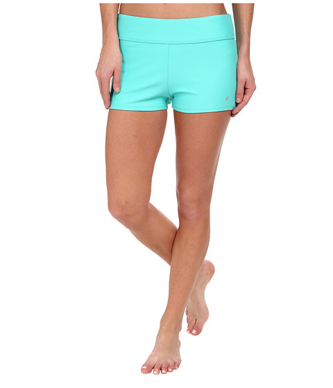 Next by Athena - Good Karma Swim Short (Aqua) Women