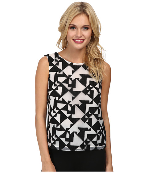 Bailey 44 - Jigsaw Top (Black) Women's Sleeveless