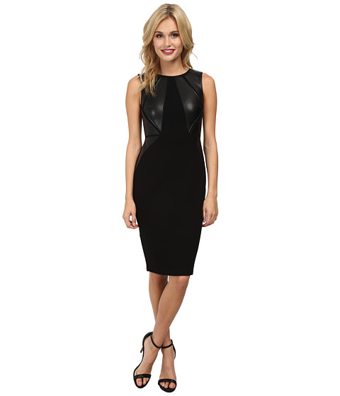 Bailey 44 - Word Pyramid Dress (Black) Women's Dress