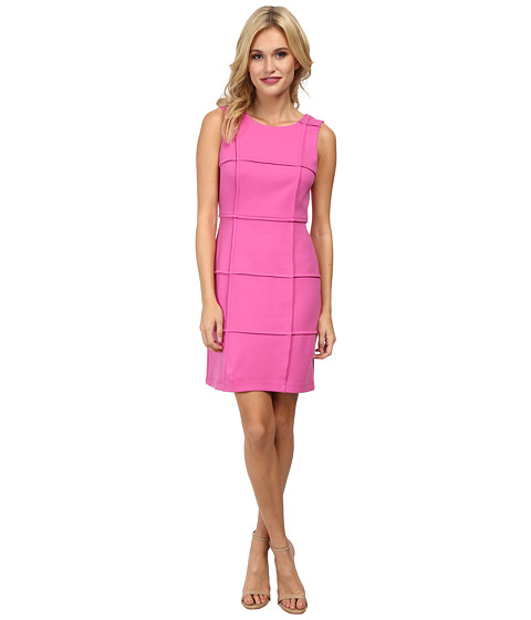 Bailey 44 - Puzzle Cube Dress (Pink) Women's Dress