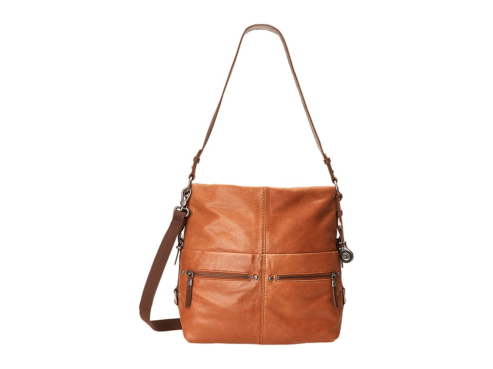 The Sak - Sanibel Bucket (Tobacco) Satchel Handbags