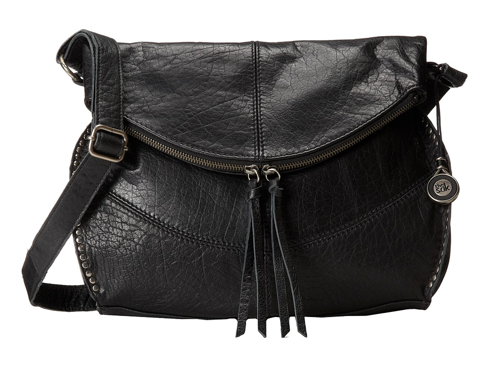 The Sak - Silverlake Messenger (Black) Cross Body Handbags