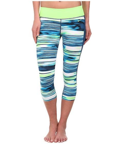 Nike - Solar Wind Hydro Capri (Blue Lagoon) Women's Swimwear