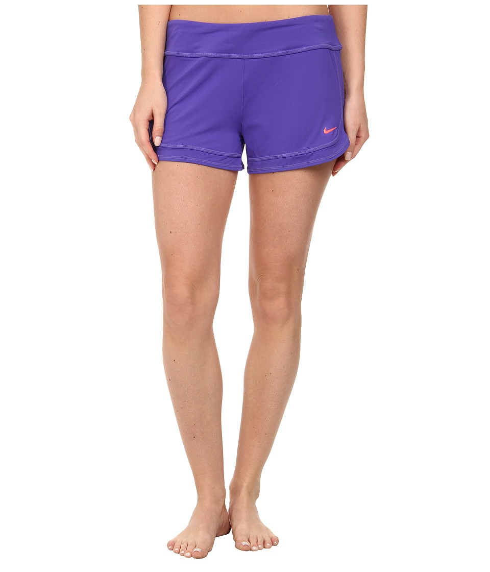 Nike - Cover-Ups Short (Persian Violet) Women's Swimwear