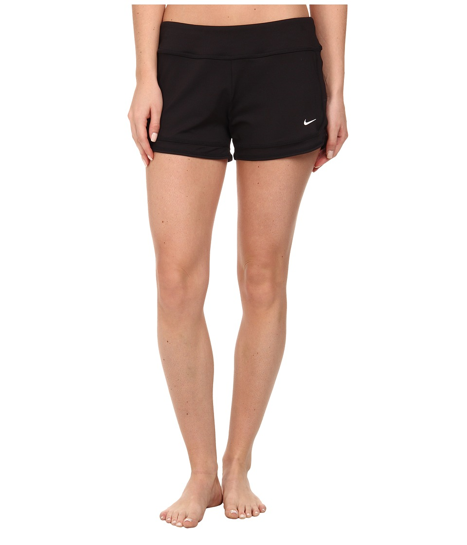 Nike - Cover-Ups Short (Black) Women's Swimwear
