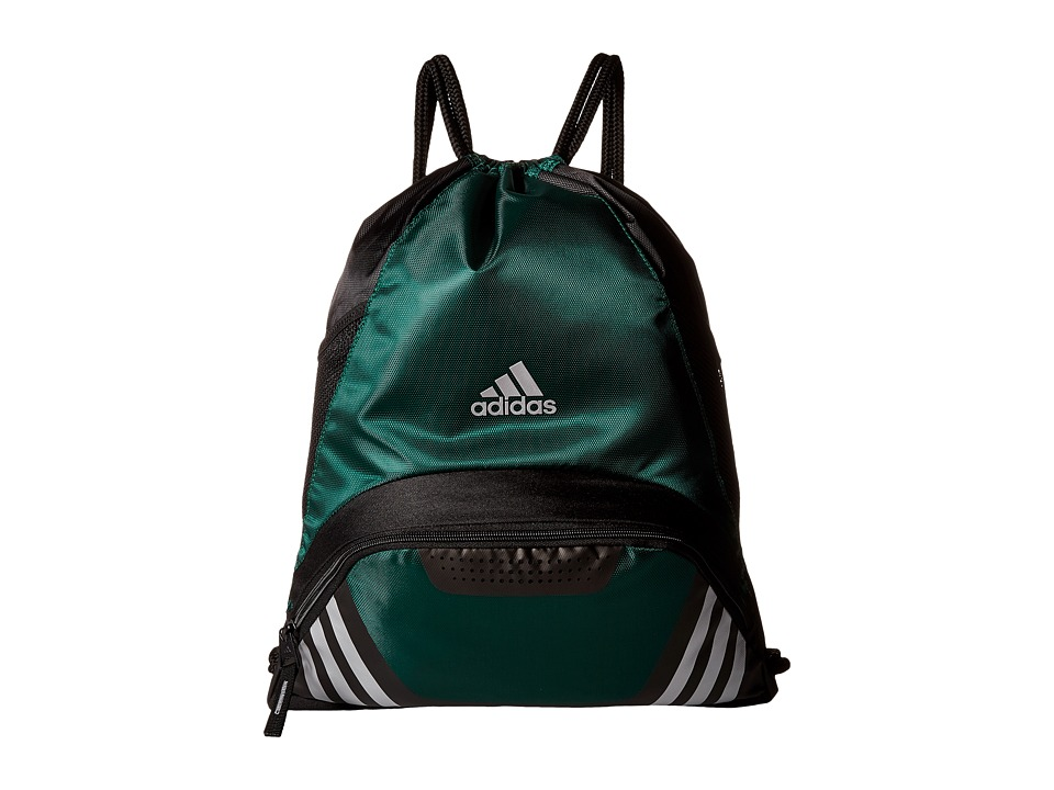 adidas - Team Speed II Sackpack (Collegiate Green) Backpack Bags