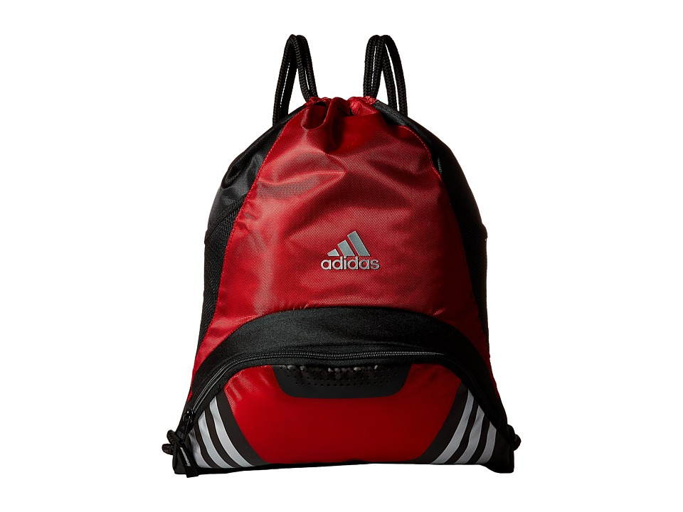 adidas - Team Speed II Sackpack (University Red) Backpack Bags