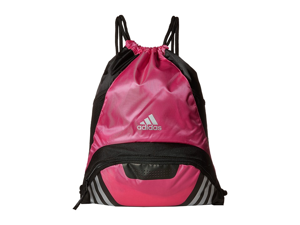 adidas - Team Speed II Sackpack (Intense Pink) Bags
