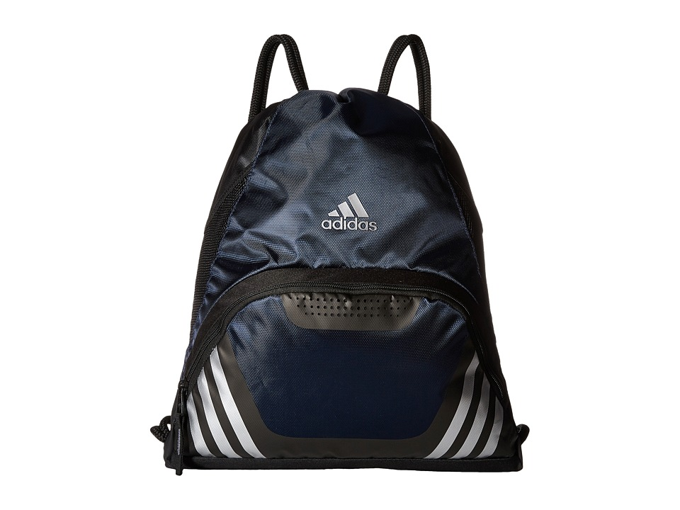 adidas - Team Speed II Sackpack (Collegiate Navy) Backpack Bags